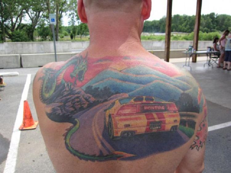 bad car tattoos 2