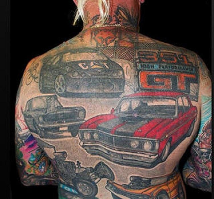 bad car tattoos 5