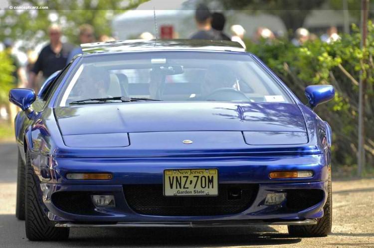 90'ların en iyi arabaları Lotus Esprit