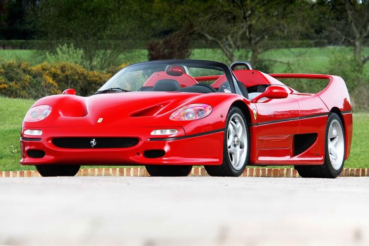 90'ların en iyi arabaları Ferrari F50