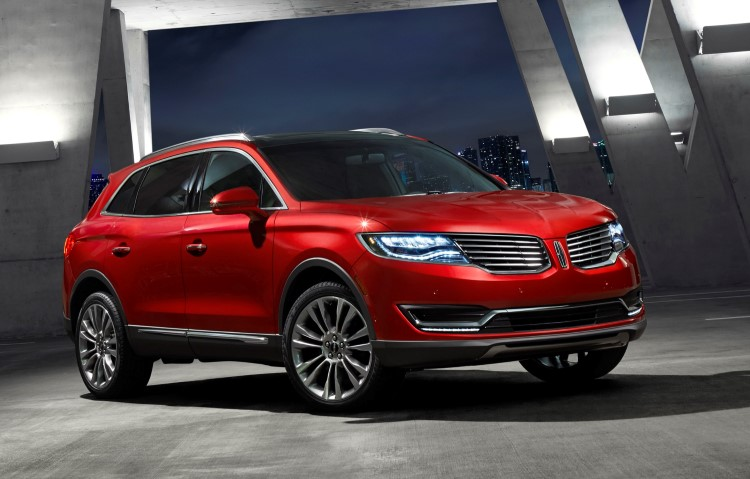 Embargoed Jan. 13, 2015 12:01am ET: 2016 Lincoln MKX