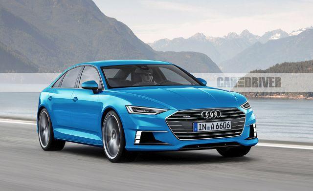 2018 Audi A6/A7 (artist's rendering)