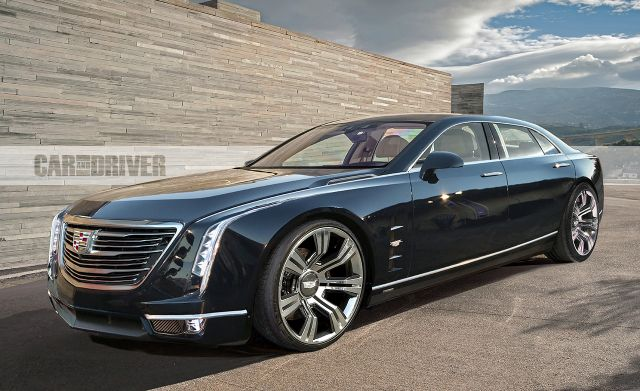 2019 Cadillac CT8 (artist's rendering)